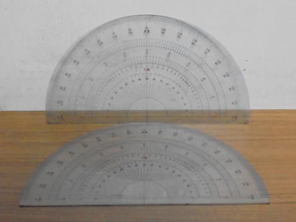 中古/分度器 勾配 2枚同じもの/定形外120円発送_画像1
