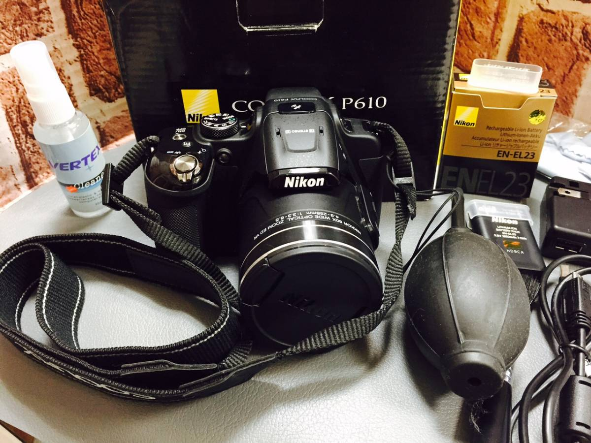Nikon COOLPIX P610 ニコン クールピックス/美品/セット