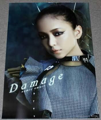 安室奈美恵ポスター『Damage』