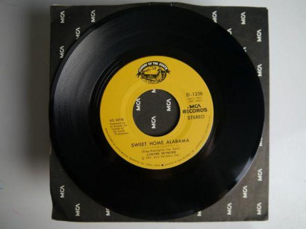 レーナード・スキナード/スイート・ホーム・アラバマ【国内盤EP】Lynayrd Skynyard/Sweet Home Alabama_画像3