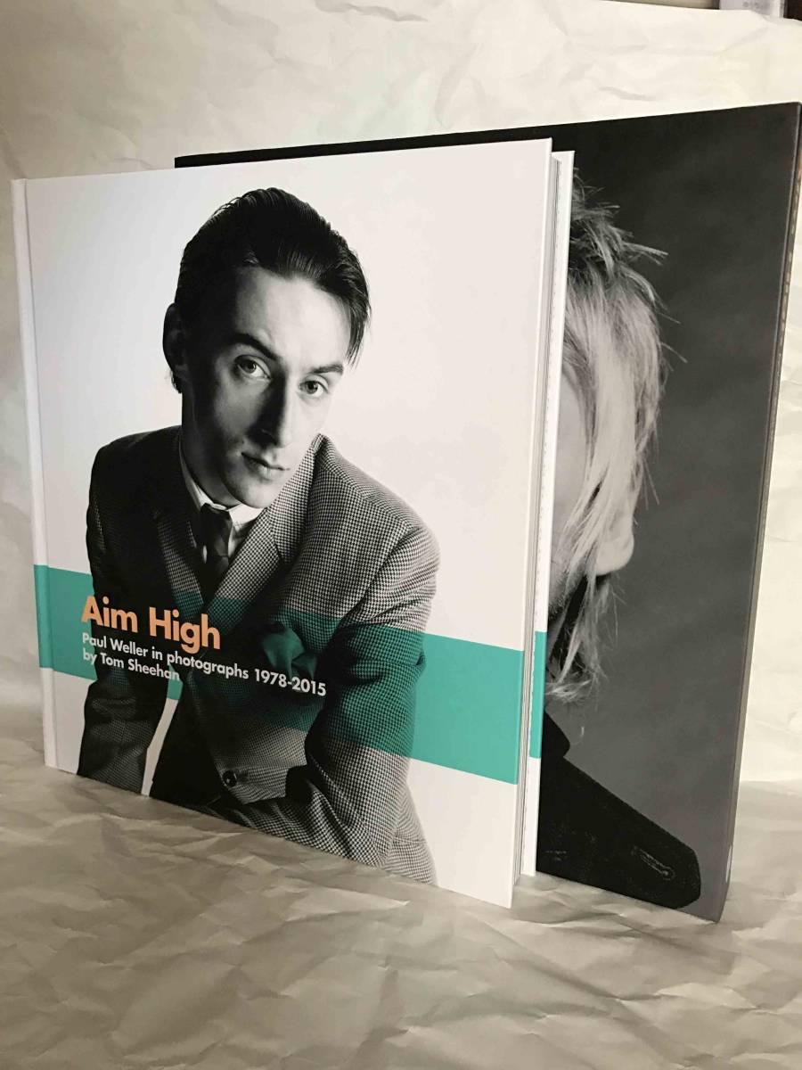 """ポール・ウェラー写真集""""Aim High: Paul Weller in photographs 1978-2015""""(Deluxe Edition) 洋書"""