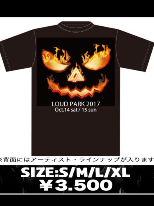 LOUD PARK17 ラウンドパーク17 オフィシャルグッズ 新品未使用 Tシャツ Mサイズ b