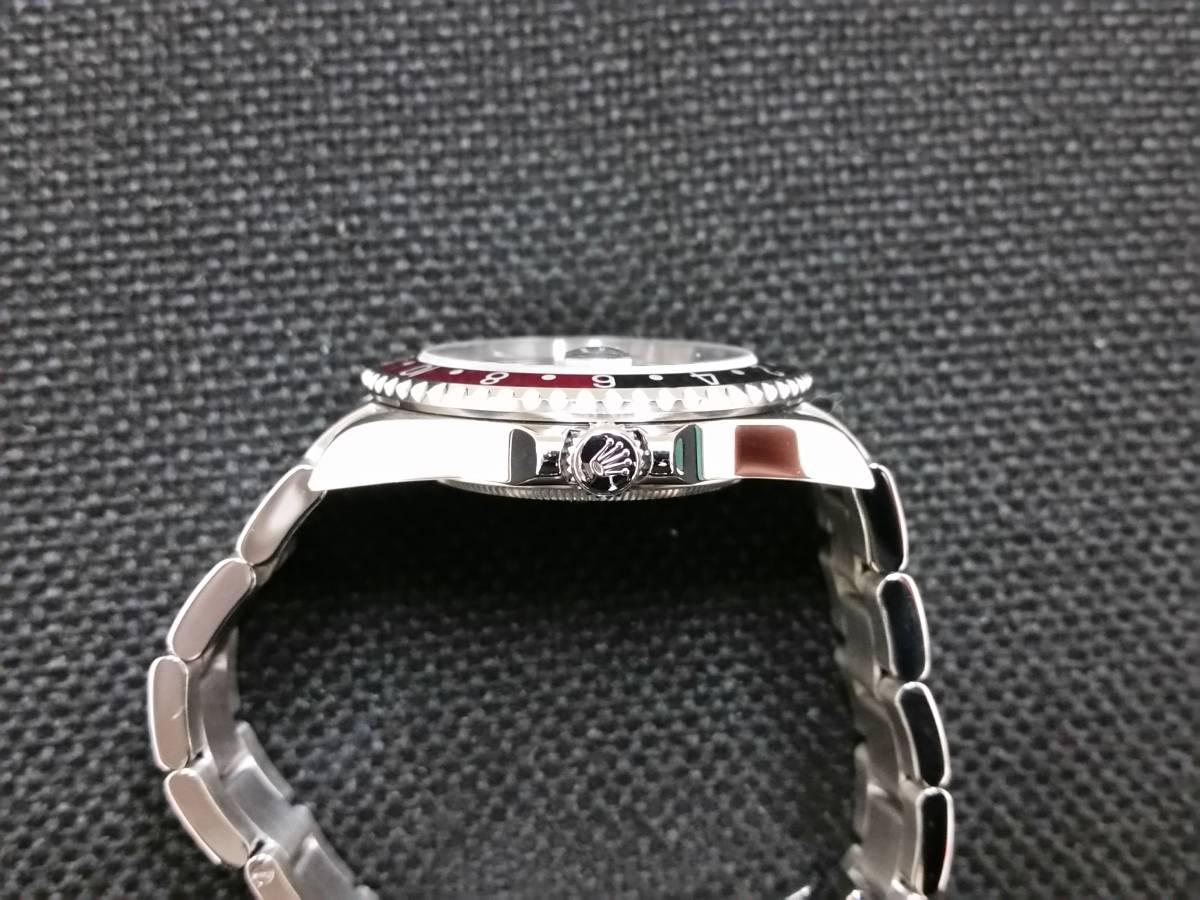 ◆(美品)ロレックス GMTマスターⅡ 16710 Z番 Cal.3186 OH済み ◆_画像4
