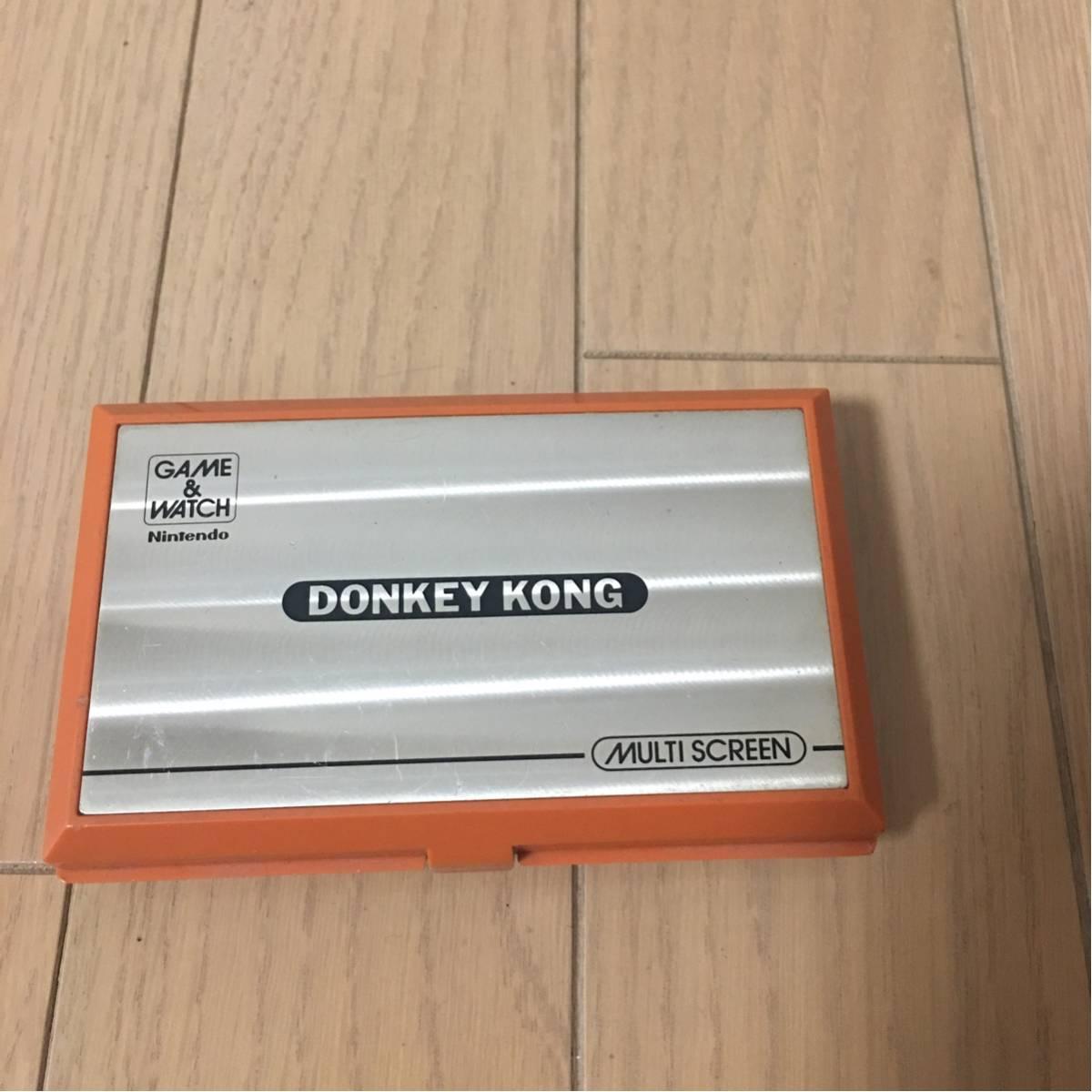 Nintendo 任天堂 ゲームウォッチ ドンキーコング DK-52動作未確認ジャンク送料360円