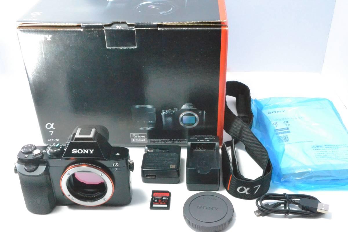 Sony ソニー Alpha 7 ILCE-7 24.3 MP SLR-Digital camera body only #1041