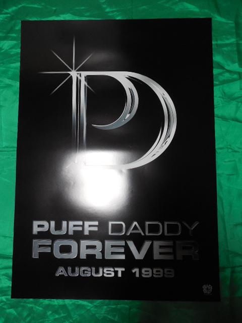 PUFF DADDY ショーン・コムズ Forever B2サイズポスター