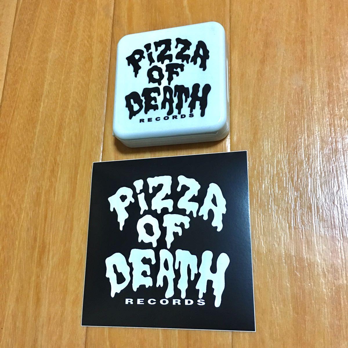 pizza of death ピザオブデス オペラグラス 双眼鏡 ステッカー付 ken yokoyama ハイスタ hi-standard wanima コーチジャケット パーカー