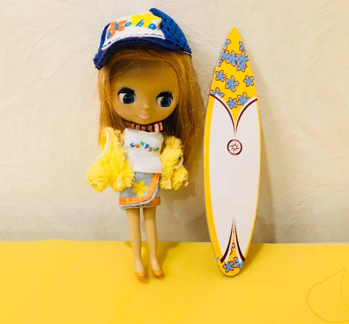 プチブライス サンセットサーファー キャップ 金髪 ブルーアイ ドール 人形 ブライス Blythe タカラトミー