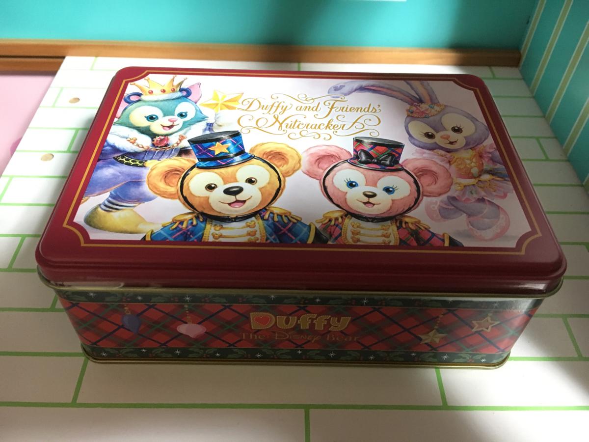 切手可●TDS ディズニーシー ダッフィー&フレンズ くるみ割り人形 クリスマス 菓子缶 ダッフィー シェリーメイ ジェラトーニ ステラルー● ディズニーグッズの画像