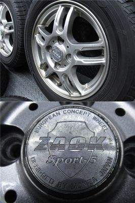 ●MONZA ZAKC sport-5 13インチ 4.00B +42 PCD100 4H 155/65R13 アイスガード iG50 スタッドレス ワゴンR ムーヴ タント 軽_画像3