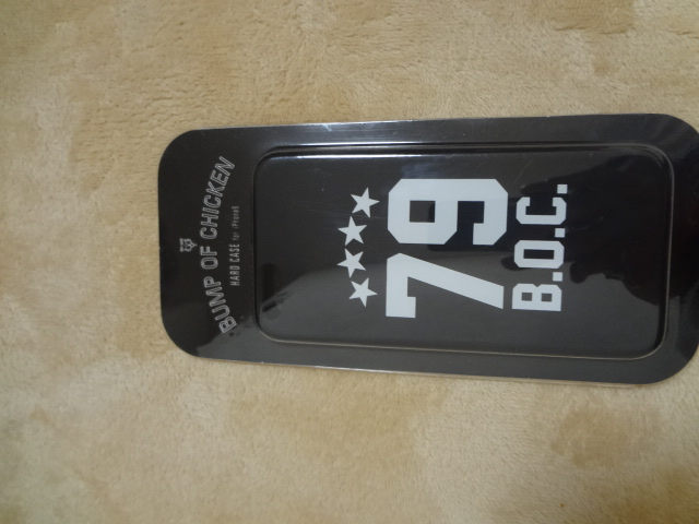 BUMP OF CHICKEN iphone6ケース 未使用  ナンバリング79 バンプ バンプオブチキン ライブグッズの画像