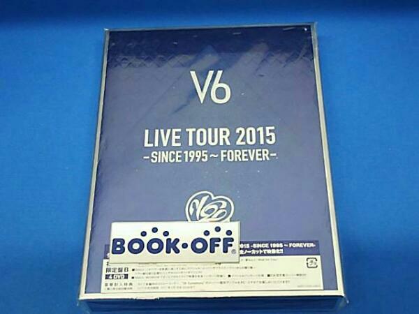 LIVE TOUR 2015 -SINCE 1995~FOREVER-(初回生産限定版B) V6 コンサートグッズの画像