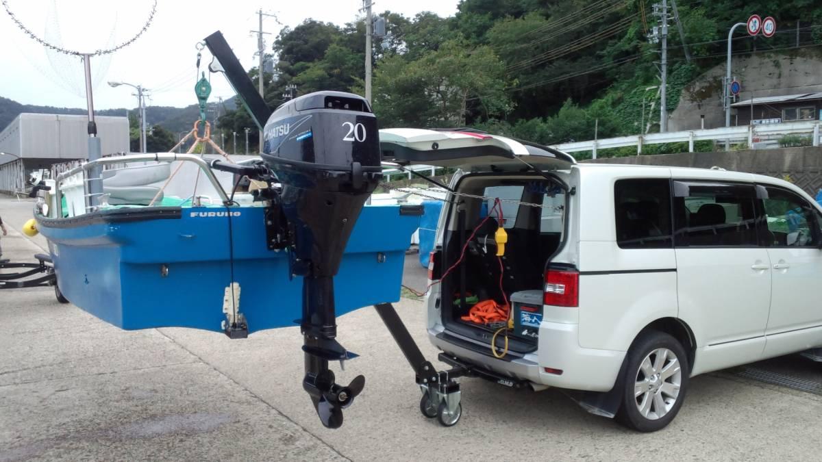 「【送料無料】☆ジェット &トレーラルボート専用の電動ヒッチクレーン V」の画像3