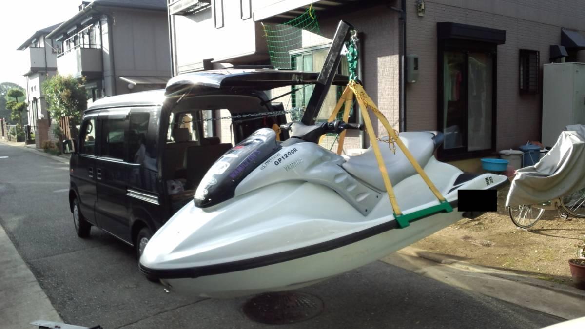 「【送料無料】☆ジェット &トレーラルボート専用の電動ヒッチクレーン ヤ」の画像3