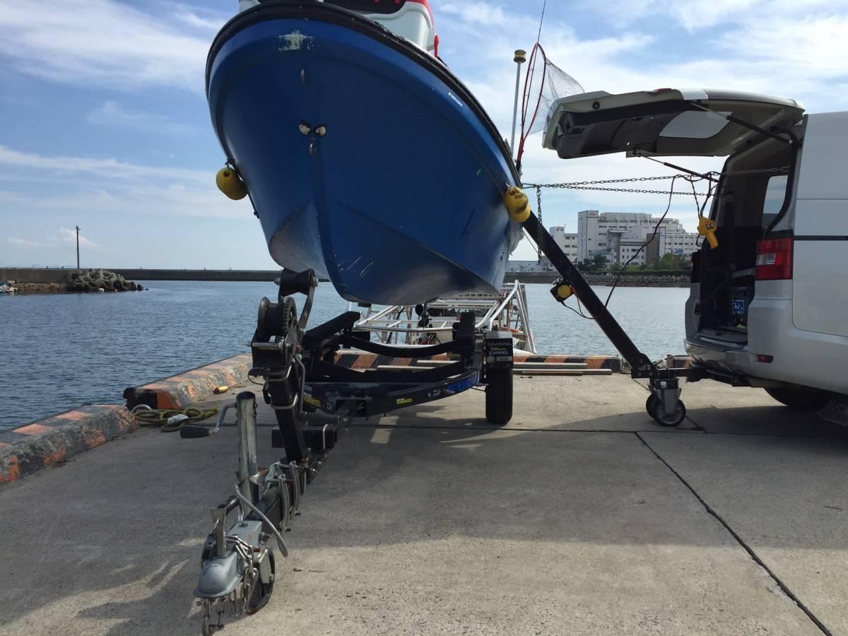 「【送料無料】☆ジェット &トレーラルボート専用の電動ヒッチクレーン V」の画像1