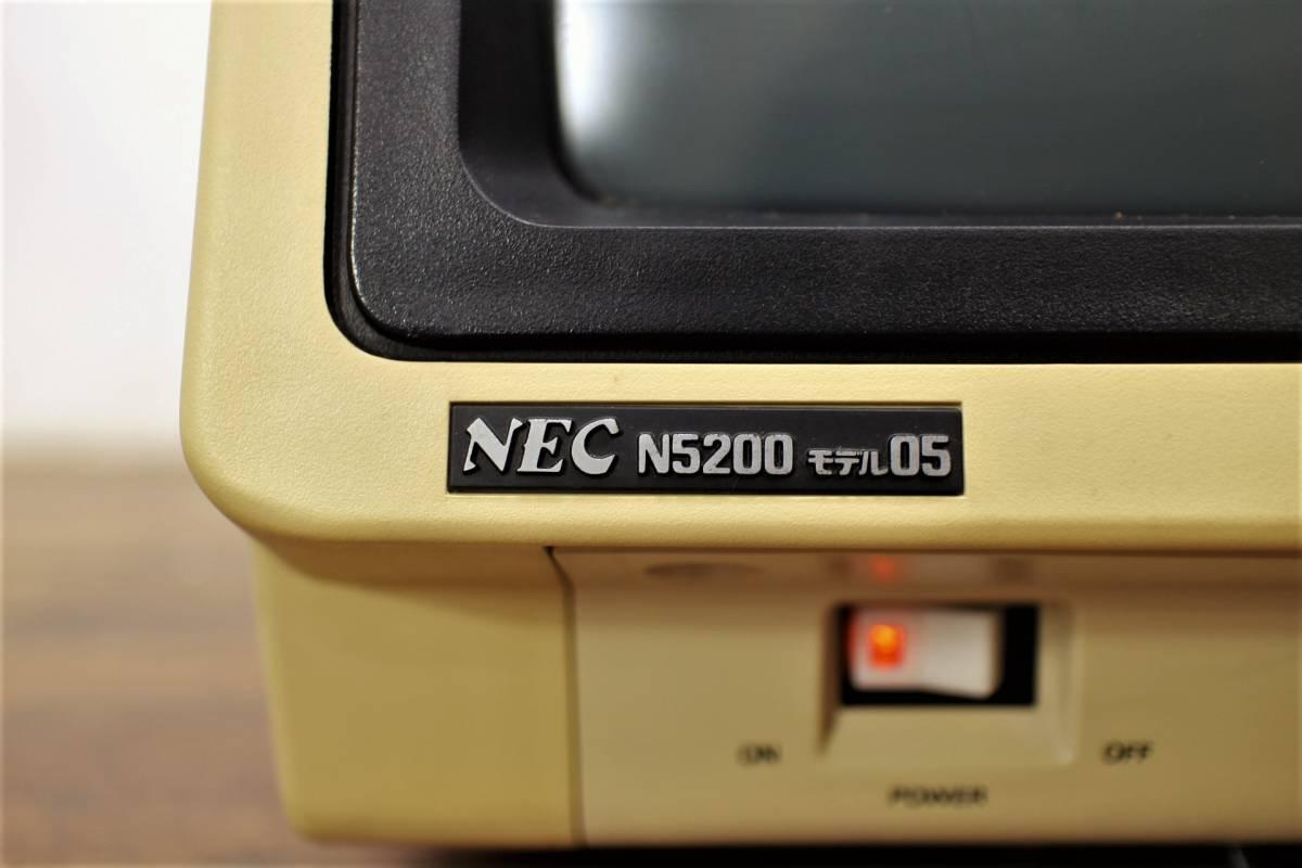 NEC パーソナルコンピュータ N5200 モデル05 ターミナルコントローラ N5231-01 元箱付 モニター パソコン_画像3