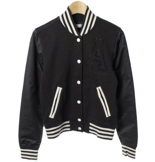 ■美品 adidas originals スタジャン 黒白 スウェット ジャケット アディダス オリジナルス■