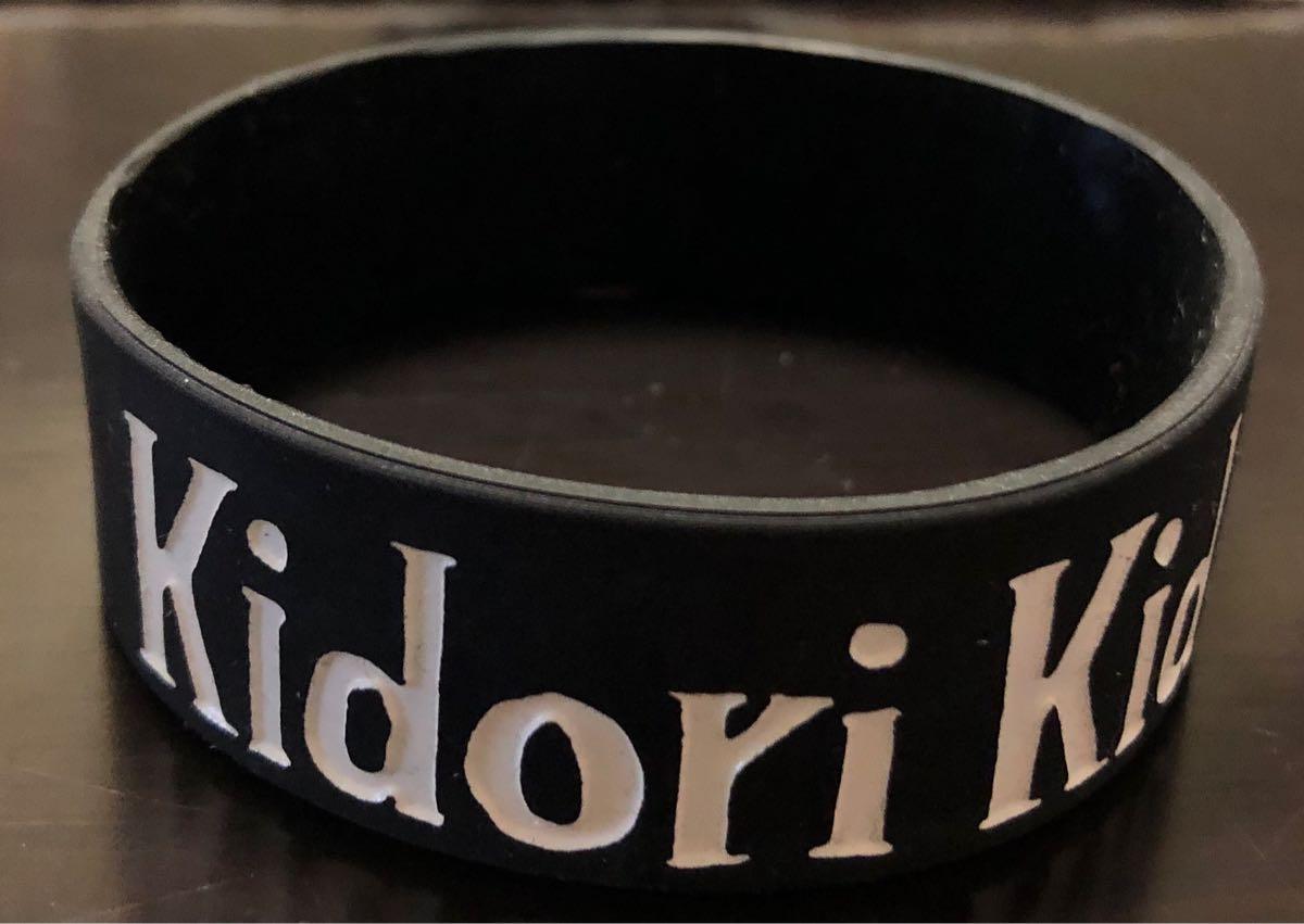 【美品】Kidori Kidori(キドリキドリ) おばけラバーバンド(ライブ会場のみ限定販売)