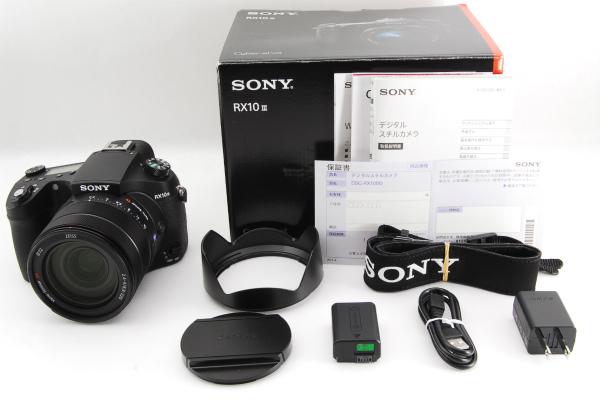 ◆新品同様◆SONY ソニー Cyber-shot DSC-RX10M3 元箱・付属品 未記入保証書