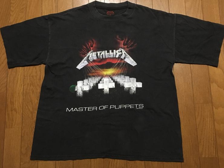 80s/1987/メタリカ METALLICA/Tシャツ pushead/ パスヘッド/iron maiden/ビンテージ/スレイヤー/megadeth anthrax/メガデス/90s ライブグッズの画像
