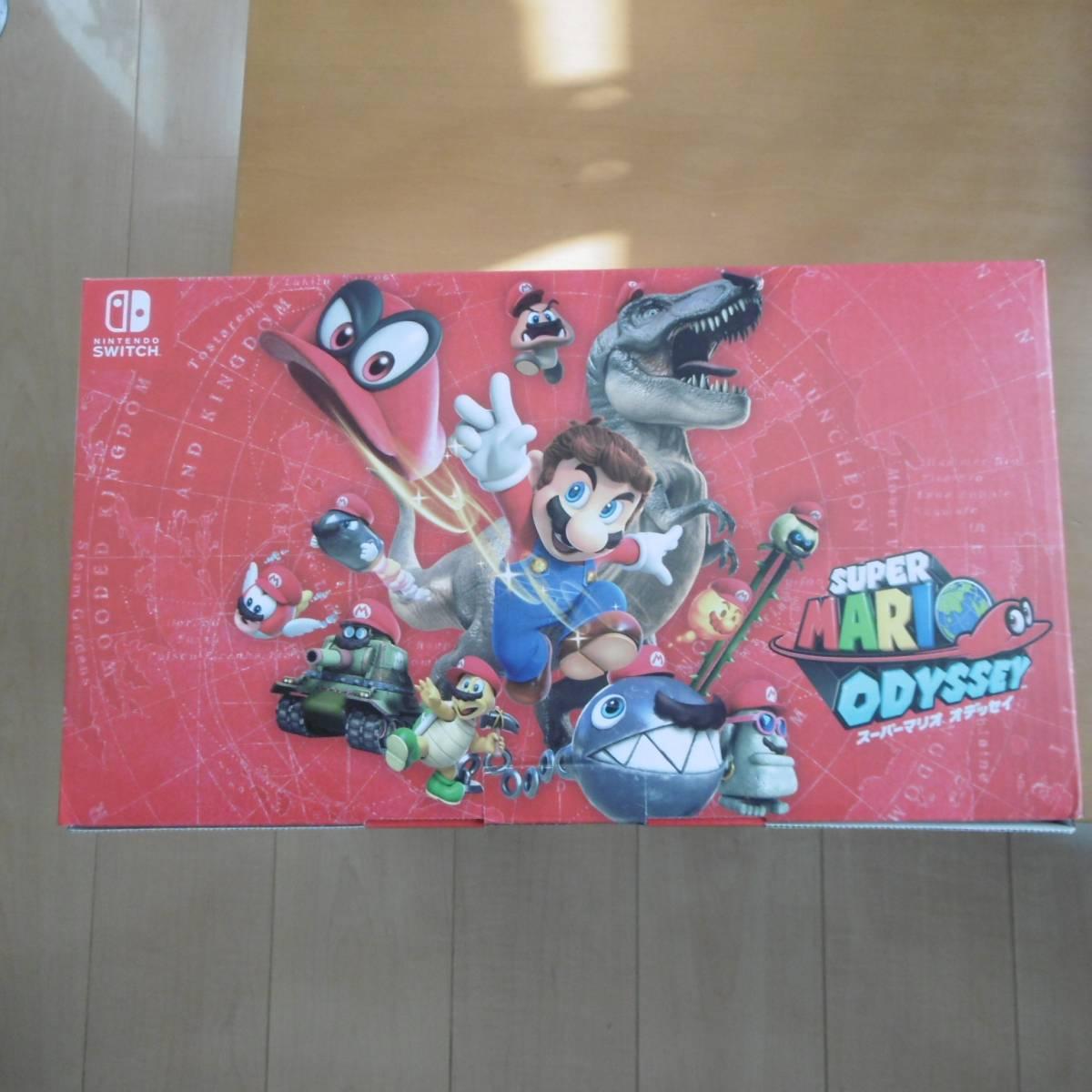 【新品☆未開封】Nintendo Switch 任天堂 ニンテンドー スイッチ 本体 スーパーマリオ オデッセイセット 保証付き11月19日購入_画像3
