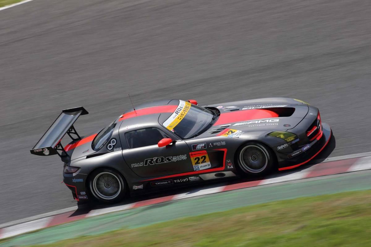 現役スーパーGT参加車両!R'Qsモータースポーツ参戦車両!マッドカラーリング!「メルセデスベンツ・AMG-SLS/GT3カー」完全実働完動車両売切!_画像5