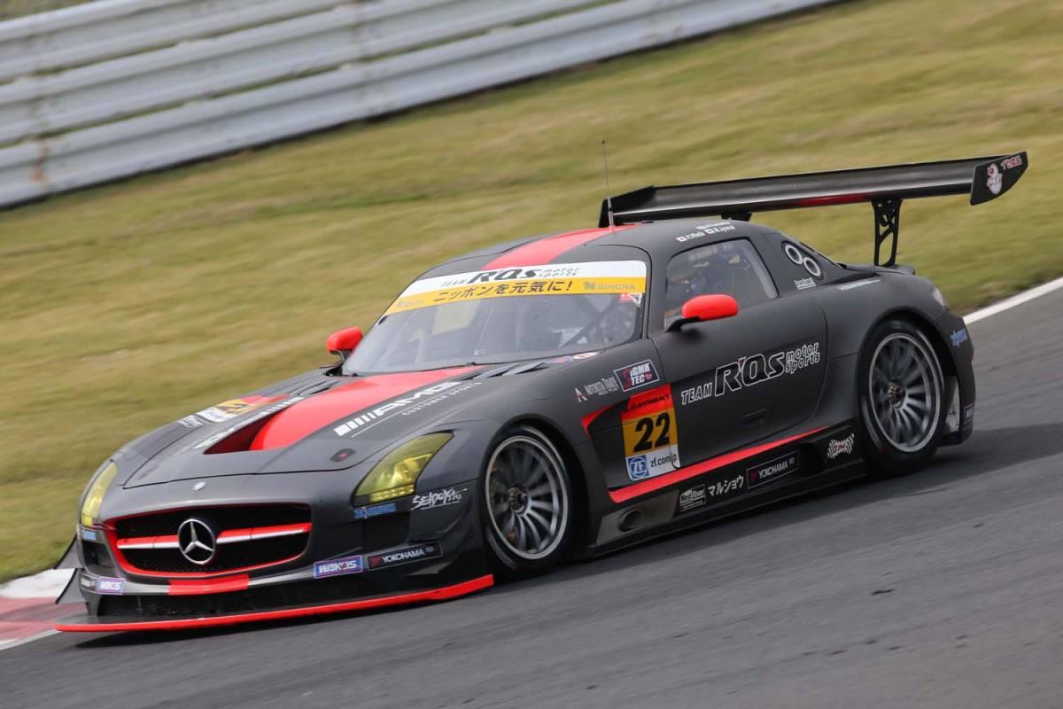 現役スーパーGT参加車両!R'Qsモータースポーツ参戦車両!マッドカラーリング!「メルセデスベンツ・AMG-SLS/GT3カー」完全実働完動車両売切!