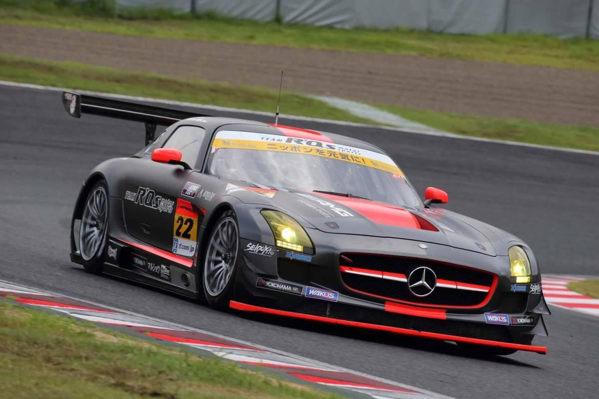 現役スーパーGT参加車両!R'Qsモータースポーツ参戦車両!マッドカラーリング!「メルセデスベンツ・AMG-SLS/GT3カー」完全実働完動車両売切!_画像3