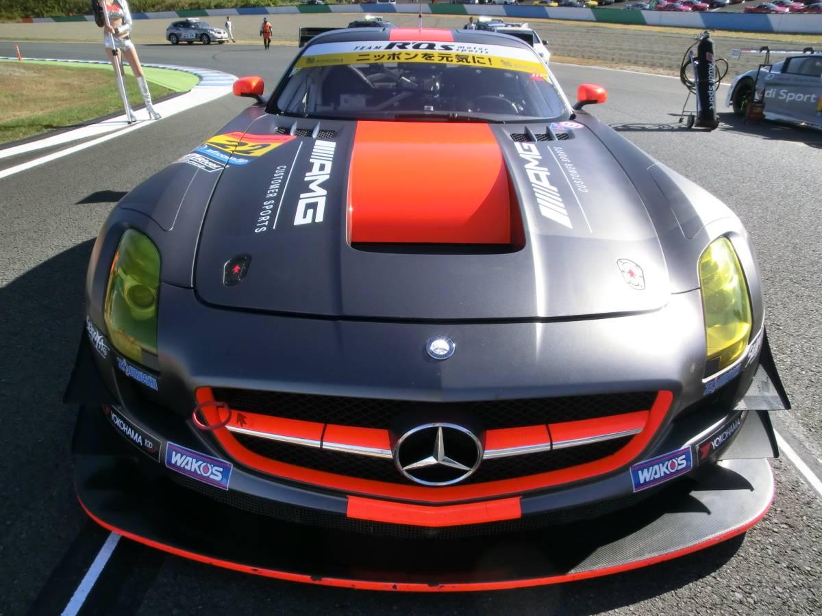 現役スーパーGT参加車両!R'Qsモータースポーツ参戦車両!マッドカラーリング!「メルセデスベンツ・AMG-SLS/GT3カー」完全実働完動車両売切!_画像6