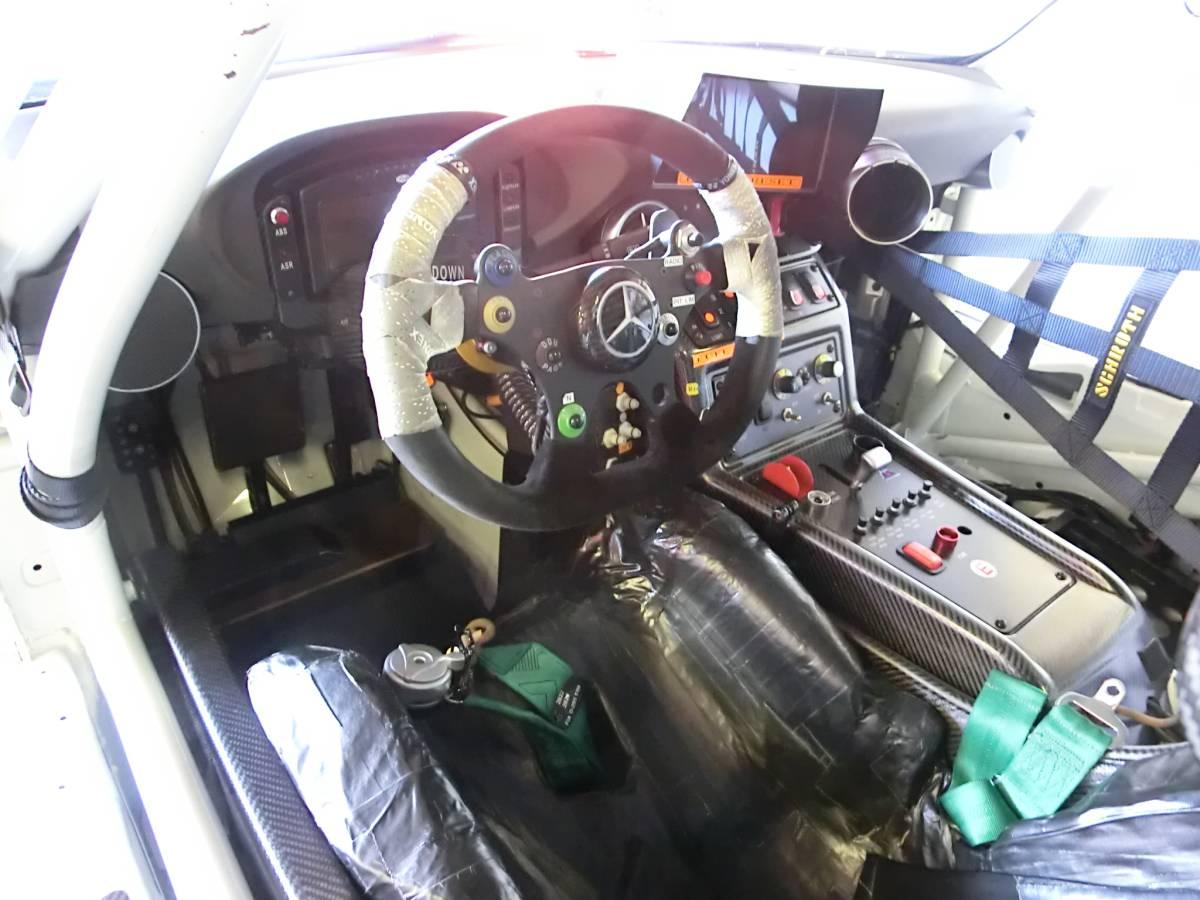 現役スーパーGT参加車両!R'Qsモータースポーツ参戦車両!マッドカラーリング!「メルセデスベンツ・AMG-SLS/GT3カー」完全実働完動車両売切!_画像8