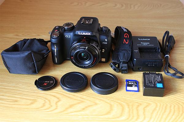 ◆Panasonic LUMIX DMC-G2 14-42mm レンズキット / SDカード付属 / 中古動作品◆
