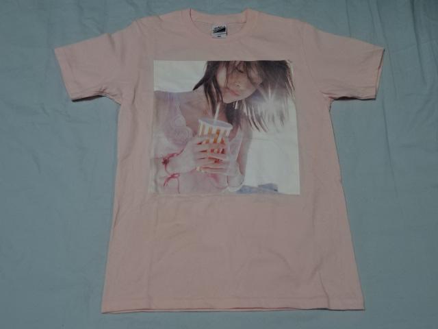 送料82円・P357■ スピッツ 結成30周年記念 ジャケット Tシャツ 子供用160サイズ フェイクファーピンク
