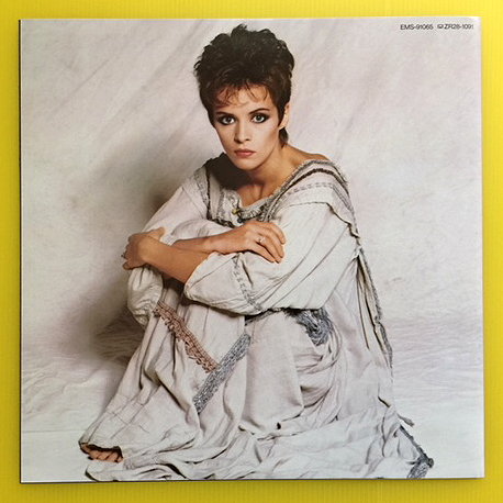 ★シーナ・イーストン「秘密」帯付LP(1983年)初回プレス特典特大ポスター付/美盤★_画像4