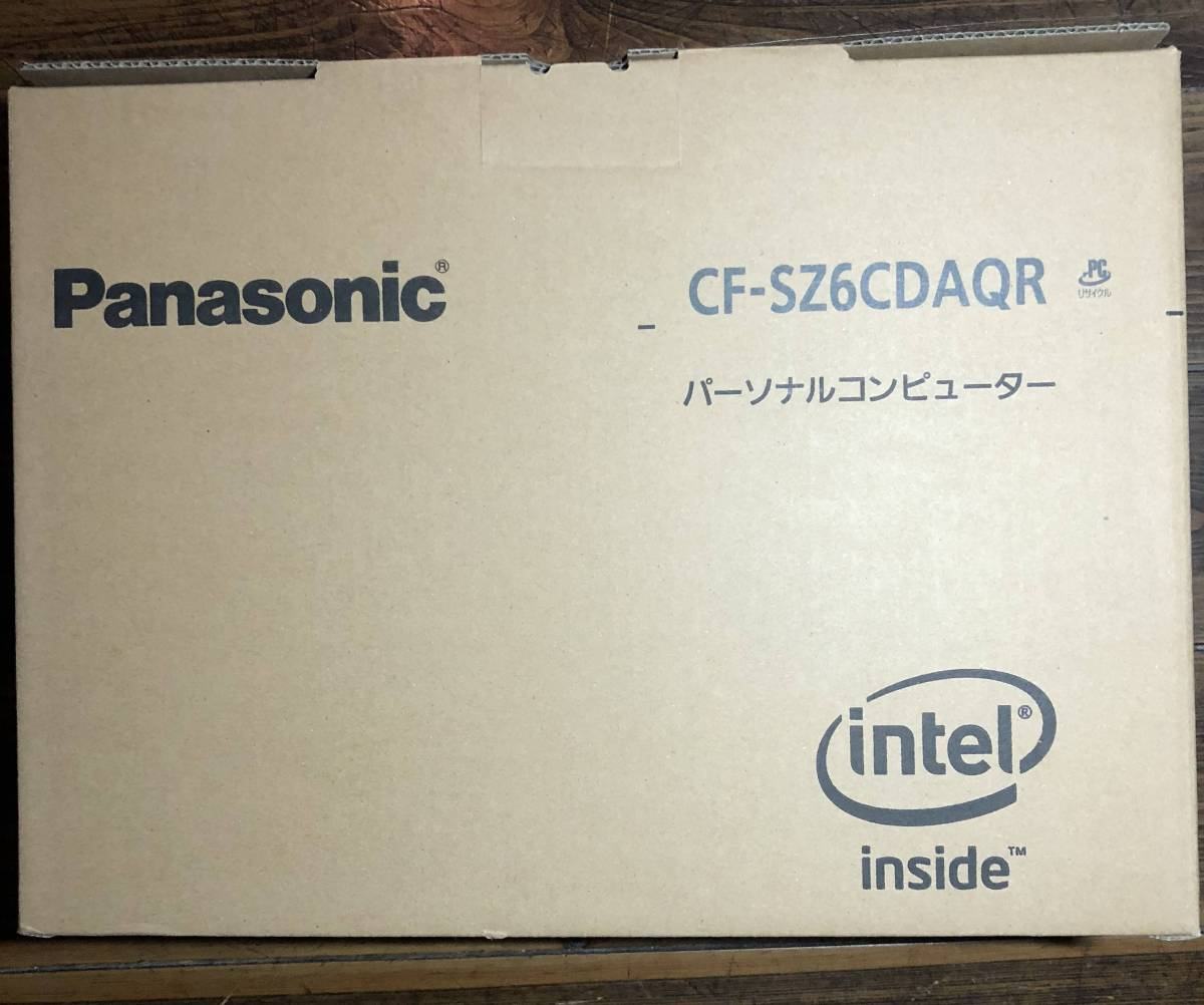 1円~ 新品 Let's note CF-SZ6CDAQR Windows10 Pro 64bit Corei7 SSD128GB+HDD1TB Microsoft Office バッテリー約18時間 送料無料