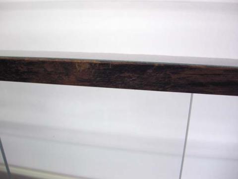 木製風ガラスショーケースW90cm レトロ・アンティーク調 コレクションケースとしても 都内23区送料1,000円_画像7