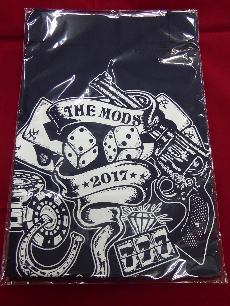 THE MODS(ザ モッズ)TOUR 2017ONE SHOT DEALライブ会場限定[トートバッグ(紺)]森山達也/北里晃一/苣木寛之/佐々木周(SHU)ツアーグッズ/新品
