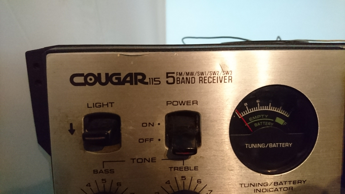 【Panasonic national】cougar2200 cougar115 セット売り ジャンク_画像4