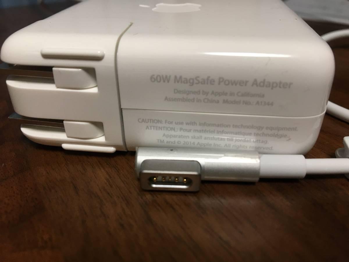 Apple 60W MagSafe電源アダプタ(アップル純正品)_画像3