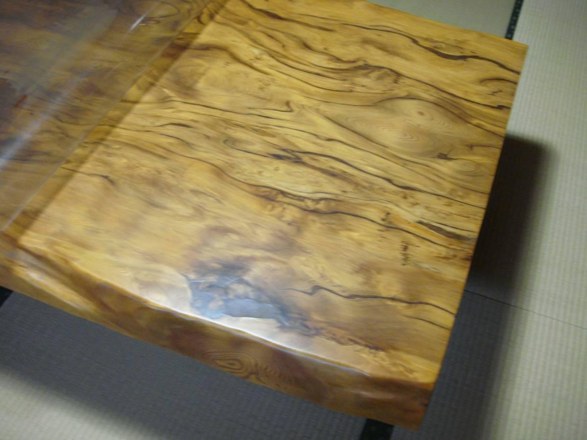 屋久杉 大型テーブル 200cm×110cm 一枚板 送料無料_画像6