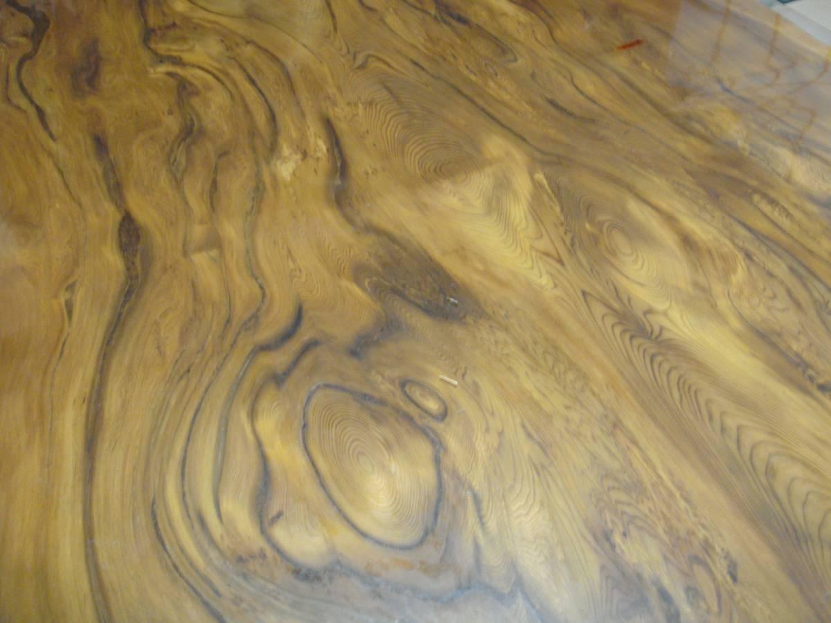 屋久杉 大型テーブル 200cm×110cm 一枚板 送料無料_画像10