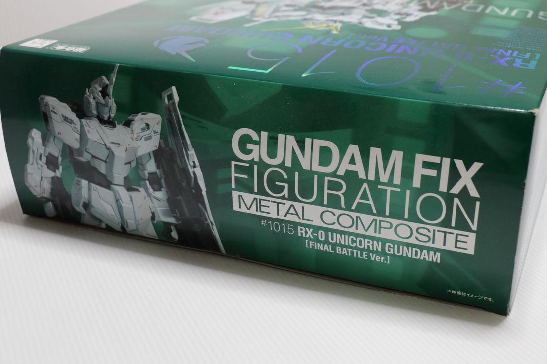 GUNDAM FIX #1015 RX-0 ユニコーン ガンダム 最終決戦Ver._画像3