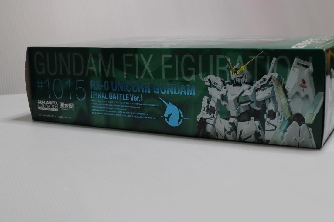 GUNDAM FIX #1015 RX-0 ユニコーン ガンダム 最終決戦Ver._画像4