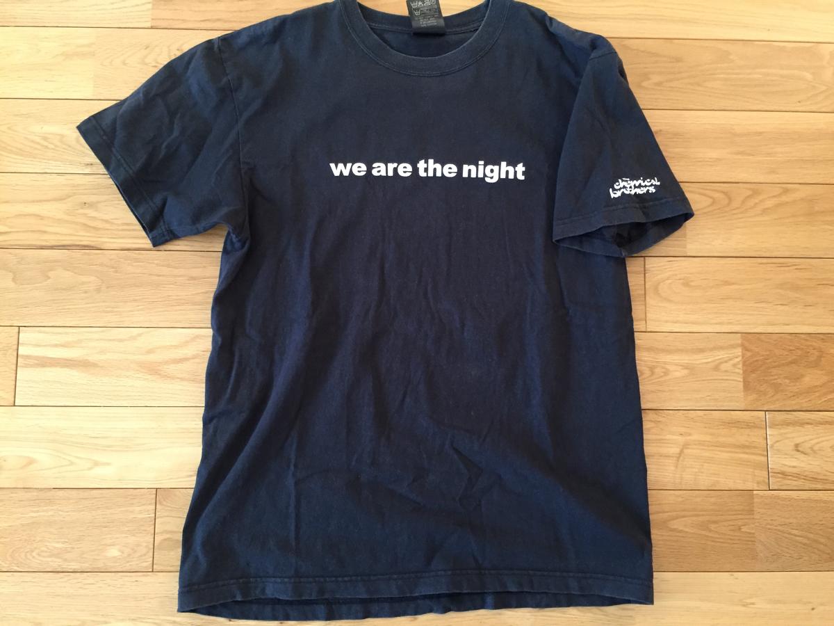THE CHEMICAL BROTHERS ケミカルブラザーズ Tシャツ Lサイズ ツアーグッズ 正規品