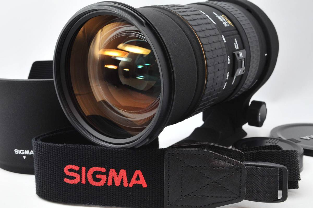 ★極上品★ シグマ SIGMA APO 50-500mm F4-6.3 D EX HSM ニコン用 A217