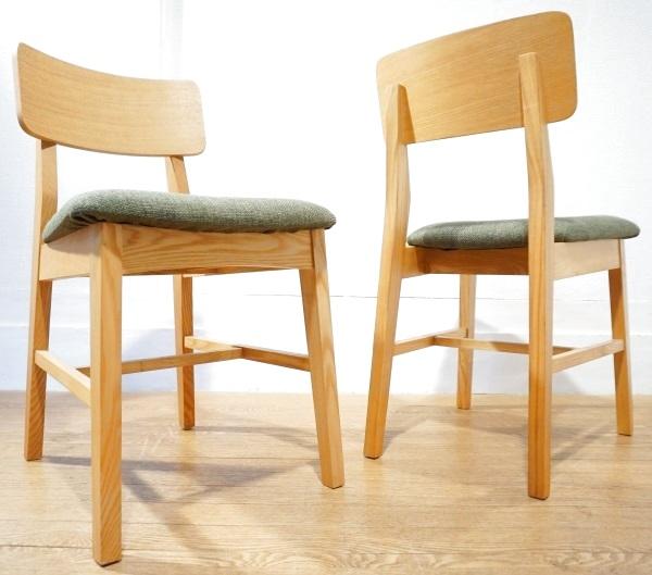 展示品☆ 北欧モダン ダイニングチェア 2脚セット 食卓 椅子 イス / アクタス IDEE ウニコ カリモク60 無印 天童木工 モモナチュラル