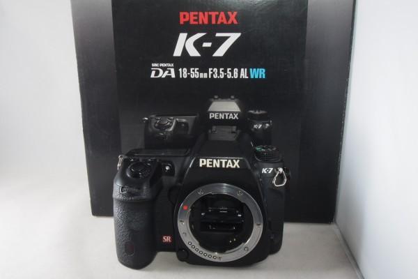 ☆ ペンタックス PENTAX K-7 K7 元箱付き