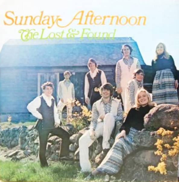 The Lost & Found - Sunday Afternoon 自主盤クリスチャンソフトロック_画像1