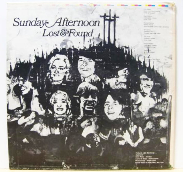 The Lost & Found - Sunday Afternoon 自主盤クリスチャンソフトロック_画像3