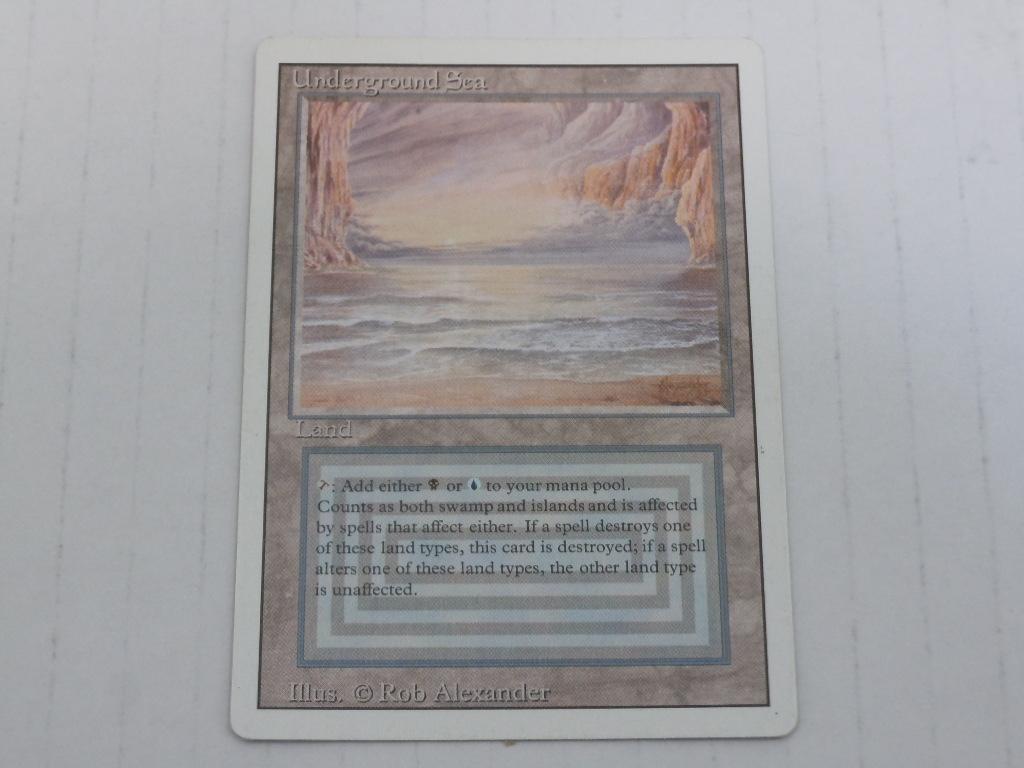 [087K10208]M:tG 土地 Underground Sea Revised 英語版 3枚セット 中古品_画像4