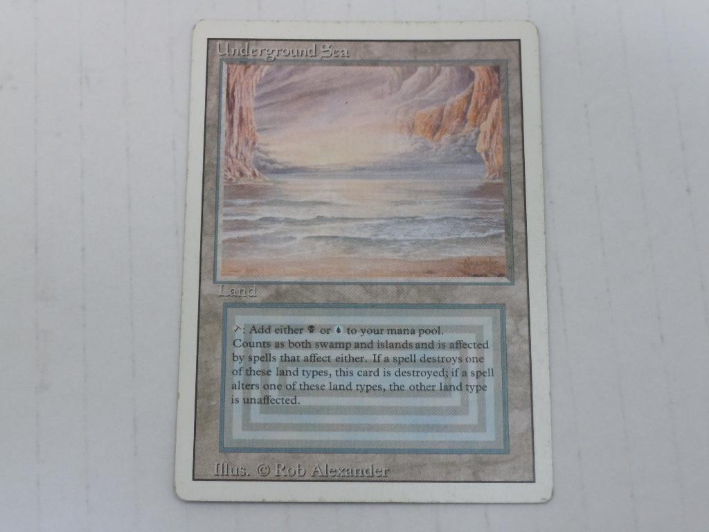 [087K10208]M:tG 土地 Underground Sea Revised 英語版 3枚セット 中古品_画像3